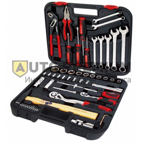 Набор инструментов (56 предметов) «Сервис Ключ» 11056.
